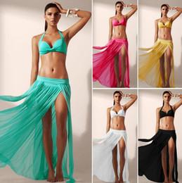 Wholesale Swimsuits Women Transparent - Beach Dress Mesh Bikini Smock Women Transparent Sexy Bikini Cover Ups Sunscreen Beachwear Swimwear Casual Swimsuit Summer Sundress D525