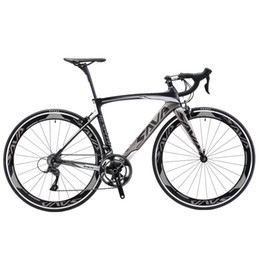 Wholesale Carbon Frame 52 - Sava T700 carbon road bike 52 frame racing road bicycle light weight 9.8kg road bike carbon SHIMAN0 R3000 group sets wholesale price