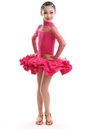 Wholesale Tutus Latin - Wholesaler 4 colors cheap girl's latin dance costumes tutus set fashion tutu sets tutu clothing photo take