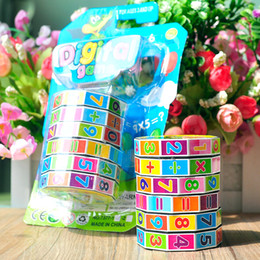 Wholesale Add Game - 2017 Hot Selling Funny Toy (digital add, subtract, multiply and divide) Magic Cube Toy Puzzle Game for Kids Math Early Education A1704294