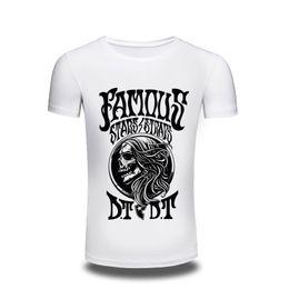 Wholesale Japanese Clothes Free Shipping - T-shirt Top Fashion mens Clothing Japanese Skull Print T shirt men Printed Casual Style Tshirt Men's Top Cool Design Tee free shipping
