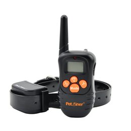 Wholesale Shocking Collars For Dogs - PET998N-1 Vibration Beep Remote Vibrating Dog Training Collar with No Shock for 1 Dog