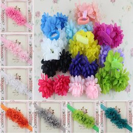 Wholesale Small Flowers For Headbands - Silk Artificial flowers Headware Small Real Touch Silk flowers 7cm diameter DIY headbands for decoration P.C 115-1006