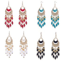 Wholesale Earing Beads - New Fashion Unique Exquisite Personalized Handmade Resin Bead Earing Pendant