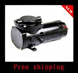 Wholesale Electric Oil Pressure - 35L   MIN 100W 80kpa 3.6bar Electric miniature oil - free diaphragm DC 100w vacuum pump electromechanical equipment