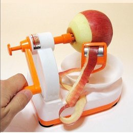 Wholesale Home Peeling Machine - Apple Peeler Creative Folded Fruit Cutter Hand Operated Automatic Peeling Machine Convenient Home Kitchen Tool Hot Sale 10 5rr F