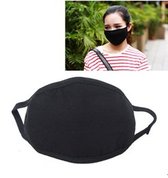 Wholesale Dust Masked Cotton - Anti-Dust Masks Cotton Mouth Face Mask Unisex Man Woman Cycling Windproof Wearing Black Rider Warm Masks Fashion High Quality ZA1492