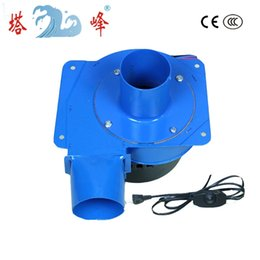 Wholesale smallest electric fans - Free shipping China 20w gas smoke hot air discharge blower small centrifugal draft fan stepless speed regulator