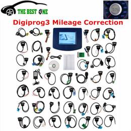 2017 el más nuevo V4.94 Digiprog III Digiprog 3 Programador de cuentakilómetros Digiprog3 Herramienta de ajuste de kilometraje del coche Digi Pro 3 Juego completo de cables desde fabricantes