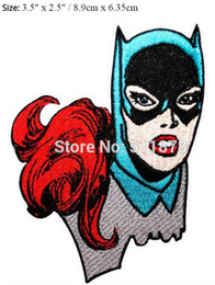 Batgirl fille de super-héros Batman Bat Man DC COMICS Crest Badge Film de télévision fantaisie brodé à coudre sur le fer sur une applique en applique ? partir de fabricateur