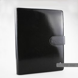 Wholesale Notebook Covers - Classic Germany Notebook Business Supply Advanced Leather Cover Agenda Handmade T-notebook Periodical Logo Diary Office Notepad