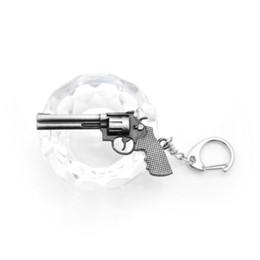 al por mayor encantos de níquel Rebajas Nueva Novedad Counter Strike Revolver Pistolas Llavero Hombres Baratija CS GO Awp Rifle Sniper Llavero Anillo de Recuerdos de Joyería de Regalo
