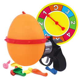 Wholesale Roulette Game - Russian Roulette Model Balloon Gun Party Tricky Creative toy gun Adult tricky Funny Toys Family interactive games Lucky Roulette