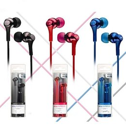 Wholesale Dj Mixed - HA FR 26 HA FR-26 Bass DJ Earphone 3.5mm Headphone Headset With MIC for iphone 6 6s 7 plus samsung s6 s7 LG
