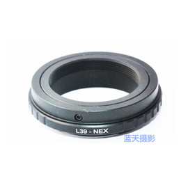 Wholesale Nex Lens Adapters - Wholesale- L39-NEX Lens Adapter Lei ca L39 M39 lens to S0NY E-mount NEX, Camera body A7 A7R A5000 A6000 NEX3 NEX5 5N 5R 7 F5