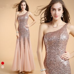 Wholesale Chiffon Dresses For Dinner - Handmade Long Dinner Crochet Hot Pink Gowns One-Shoulder Sexy Mermaid Evening Dresses Elegant for Women 2017
