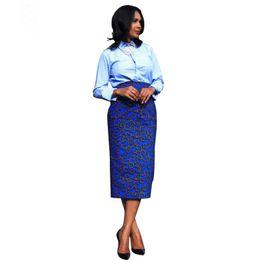 Wholesale Wax Dress For Women - 2017 summer autumn Shenbolen african dresses for women ankara clothing dashiki skirt Traditional wax cloth wax printing batik pure cotton