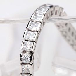 Wholesale Jewelry Brand Factory - ashion Jewelry Bracelets LUOTEEMI Brand Hot Selling Simple Style Full of Square Shape Cubic Zirconia Luxury Women Charm Bracelet Factory ...