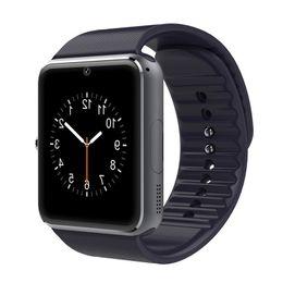 GT08 Bluetooth Smart Watch con ranura para tarjeta SIM y TF Health Watchs para Android Samsung y IOS Apple iphone pulsera Smartwatch MQ50 desde fabricantes