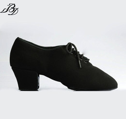 Wholesale Ladies Ballroom Latin Dance Shoes - Dancesport Shoe BD latin Dance T1 Women Teaching Dance Shoes Canvas Ladies Dancing Shoes Ballroom Standard Shoes