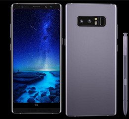 Wholesale Dual Core Android Smartphone - ERQIYU goophone note8 Note 8 Edge 6.2inch smartphones Android 7.0 smartphone 3GB RAM 64GB 2560x1440 shown 4G LTE cell phones