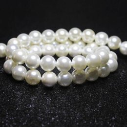 Wholesale Shell Pearl Loose Round Beads - JLN Wholesale Round Shell Pearl loose Beads For jewelry Making 4  5 6 8 10mm DIY Bracelet Necklace Strand