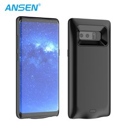 Wholesale Note Charging Case - 2017 New Coming Charging Case rechargeable Battery Case cover For Samsung note 8 Backup Power Charger Case