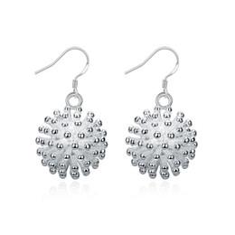 Wholesale Earring Fireworks - Fireworks Silver Earrings , 925 Silver Earrings Jewelry Women's Fashion Dangle Silver Earrings Christmas theme Free Shipping e114