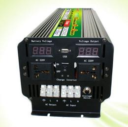 Wholesale Peak Battery Charger - LED display 5000Watt 10000W(peak) 12V 24V To 220V 230V Power Inverter+Battery Charger UPS