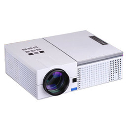 Wholesale Atco Projectors - Wholesale-ATCO Cheaper price 5500 Lumens 1280*800 1080P HDTV LED LCD Projector Multimedia Home Theater Video Beamer USB HDMI proyector