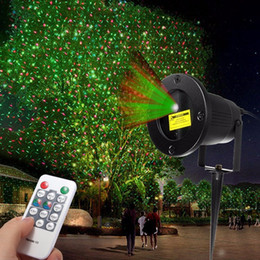 Wholesale Plug Projector Night Light - Landscape Stars Stage Light Night Sky Laser Projector With Remote Control Outdoor Christmas Party Disco Show US EU Plug