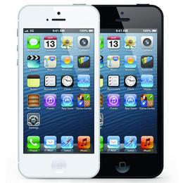 Wholesale Free Iphone Accessories - Refurbished Original Apple iPhone 5 16GB 32GB 64GB 4.0 inch Dual Core 1G RAM IOS8 3G 8MP 1080P Unlocked Mobile Smart Phone Free DHL 5pcs