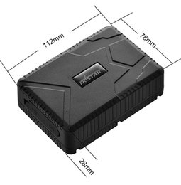 Wholesale Wholesale Truck Batteries - TK915 10PCS GPS TRACKER tk915 10000mah big battery 90days standby for Vehicle Truck  Motorcycle Car  Container Fleet management AT