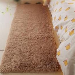 Wholesale Flooring Bathrooms - Wholesale- 13 Colors 60x120cm Anti-slip Bathroom Door Horizontal Stripes Rug Bath Mat Area Rug Bedroom Carpet Floor Mat Free Shipping