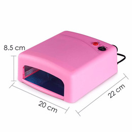 Wholesale Gel Manicure Cure Machine - for nails 36W UV for Nails Gel Curing UV Lamp Duyer Light Bulbs Tube Manicure Machine Equipment Tools Nail Art
