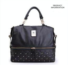 Kardashian bolsas para compras on-line-Nova Moda kardashian kollection marca cadeia preta mulheres bolsa de couro bolsa de ombro KK Saco totes mensageiro saco livre de shipping