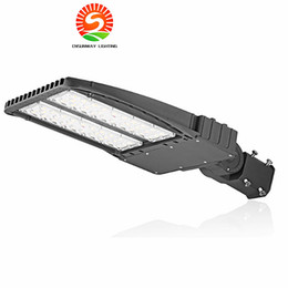 Wholesale led brush - LED Shoebox Parking Lot Lights 200W (600W Eq.) IP66 Waterproof Outdoor Street Pole Light with UL & DLC Listed Fast shipping