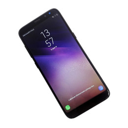 Wholesale Free T Mobile - FREE DHL 6.2inch Full Screen Goophone S8 S8+ Plus Real fingerprint 16GB Quad Core Smart Android 7.0 Cell Phones Show Octa T mobile 4G LTE