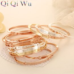Wholesale Custom Armbands - Personalized Initials Bracelets Bangles for Women Gift Gold Bar Armband Custom Engraved Name Bracelet Engraving Letters Jewelry