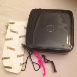 Wholesale Travel Plastic Box - 2017 New Women Fashion Cosmetic Storage Box Organizer Makeup Storage Bags Brand Pouch Portable Travel Toilet Bag C C VIP Gift