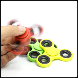 Wholesale Ring For Hands - EDC Fidget Spinner Hand Spinner Finger spinner toy EDC Toy For Decompression Anxiety Toys Free DHL