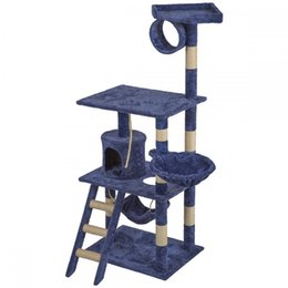 grande maison pour animaux de compagnie Promotion Cat Tree Tower Condo Furniture Scratch Post Kitty Pet House
