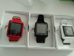 Wholesale Women Watches Used - Smart Watch U8 Woman Man Sport Bluetooth Smartwatch Fitness Tracker for Android IOS Phone PK Apple Watch DZ09 U80