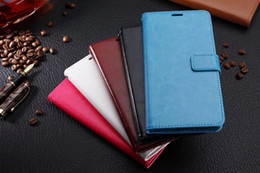 Wholesale Black Money Case - PU Leather Flip Case Cover with Card Slots Money Holder Stand Function For Samsung Galaxy C5 C7 ON5 ON7 C9 Pro 2016