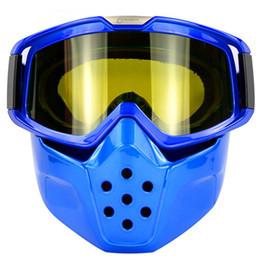 Wholesale Men Snowboard Goggles - Wholesale- Men Women Ski Snowboard Goggles Skiing Snowboarding Snowmobile Glasses Winter Sports Eyewear Helmet Mask - Black Blue Red