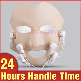 Wholesale Facial Massage Mask - LED Vibration Photon Red Ray Therapy 3D Freckle Removal Facial Skin Rejuvenation Soften Mask Personal Beauty Massage