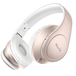 Wholesale Over Ear Headphones Microphones - Sound Intone P7 Bluetooth Headphones Over-ear Stereo Wireless + Wired Headsets with Microphone Hands-free Calling For Phone