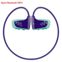Wholesale Sport Mp3 Player W262 - Wholesale- Brand New Sport Bluetooth MP3 Player Real 2GB for Son Walkman NWZ-W262 2G Earphone Running Lecteur Mp3 Music Players Headphones