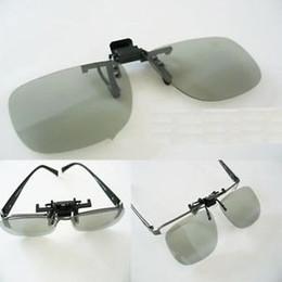 Wholesale Glasses Lg 3d Polarized - Passive 3D Glass: 2 Pairs Clip-On Passive 3D Glass with Polarized Plastic Lenses for Vizio LG 3DTV