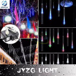 Wholesale Rain Drop Led Lights - Multi-color 20CM 30CM 50CM Meteor Shower Rain Tubes AC100-240V LED Christmas Lights Wedding Party Garden Xmas String Light Outdoor